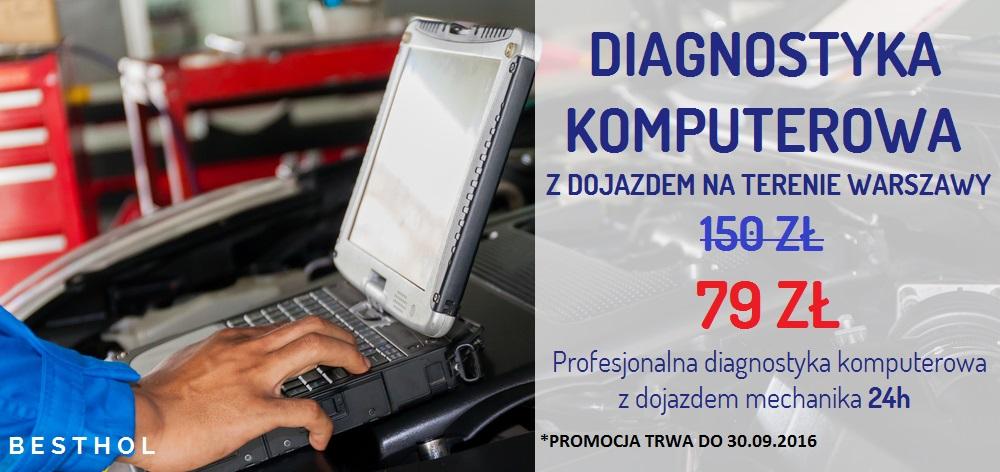 Besthol - diagnostyka komputerowa Warszawa - promocja 79zł! Procesjonalna diagnostyka komputerowa z dojazdem do Klienta w Warszawie. Tel. 697-598-149
