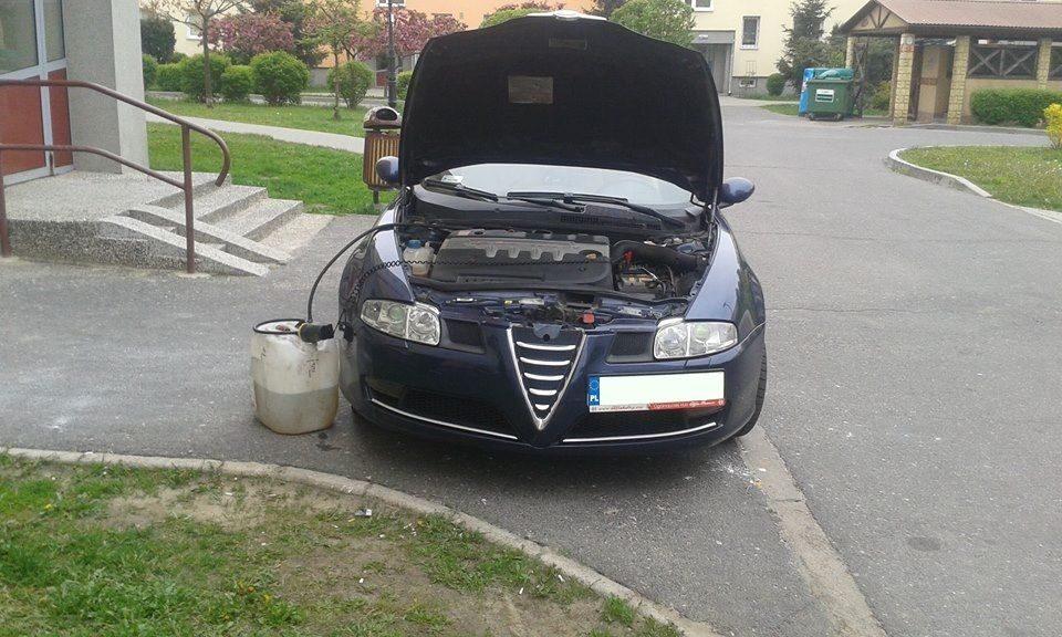 Wypompowanie źle zatankowanego paliwa