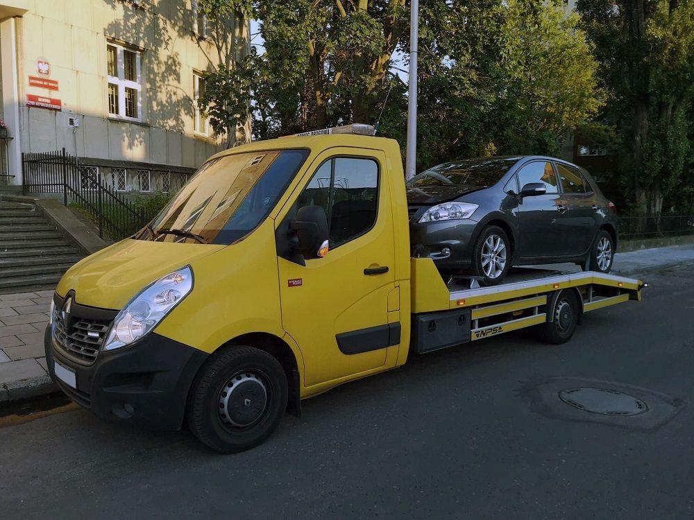 laweta i holowanie z Gdyni do Warszawy