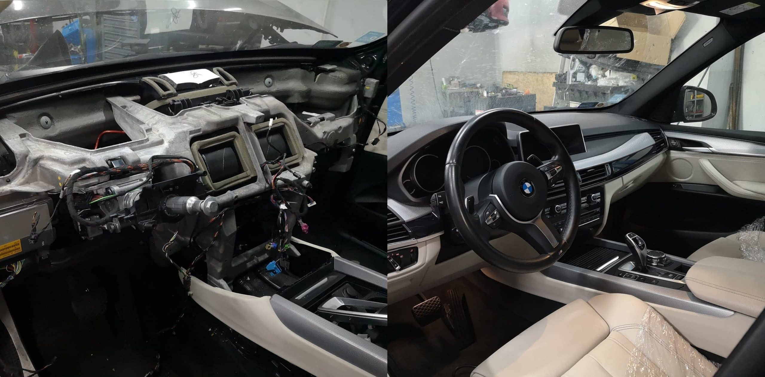 Kompleksowa naprawa BMW X5 na warsztacie 2