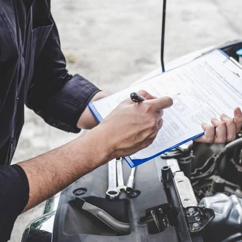 protokół holowania i naprawy auta